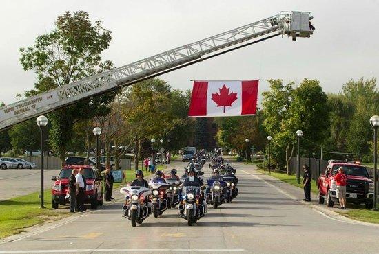 Nottawasaga Inn Resort: Canad's 911 Ride