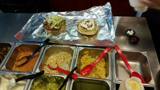 Let's Burger: Barra de hamburguesa