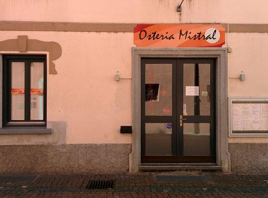 Osteria Mistral : Restaurant Entrance