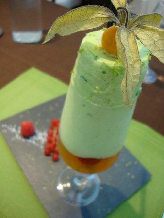 L'Eden: Soufflé glacé citron vert et mandarine