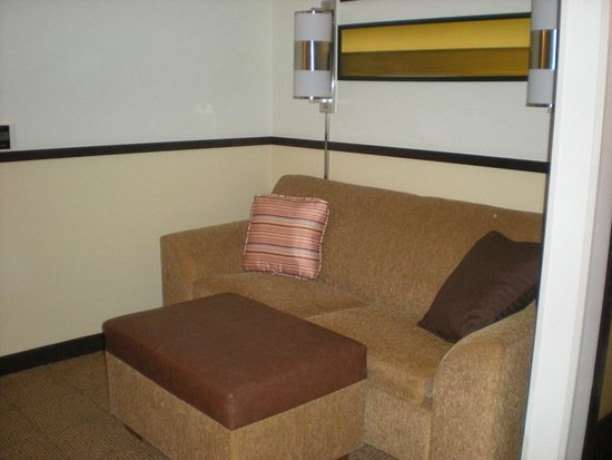 Hyatt Place Ft. Lauderdale 17th Street Convention Center: Sofa in handicap accessible room 104