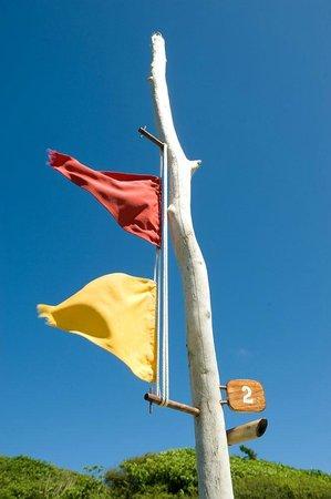 Petit St. Vincent Resort : Flag System