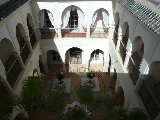 Riad Nashira & Spa : vue du solarium