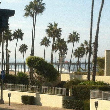 Huntington Surf Inn : The view