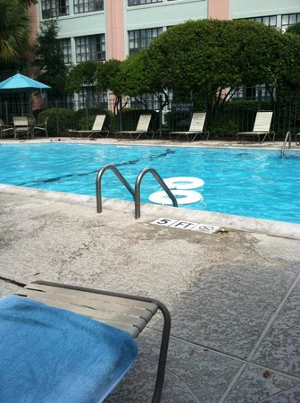 Residence Inn New Orleans Downtown: pool area