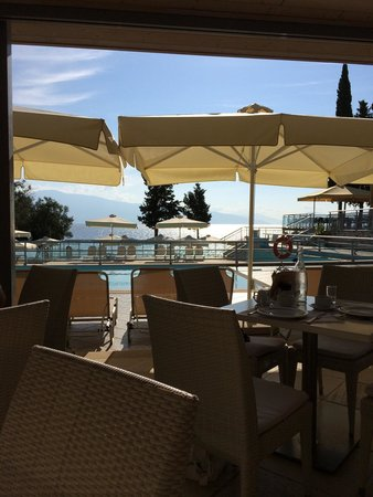 Porto Galini Seaside Resort & Spa: View from main resturant.