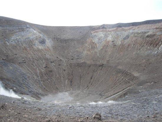 Scalata al Cratere : il cratere