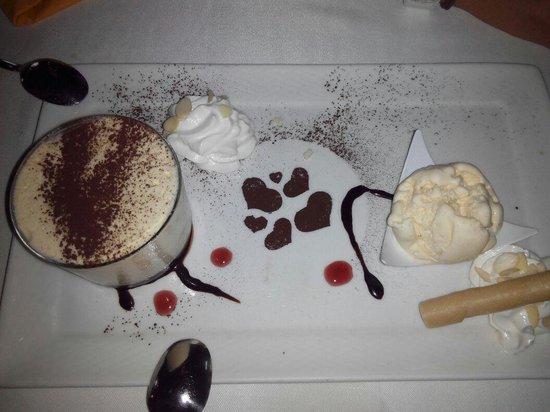 La Casa del Parmigiano: tiramisu