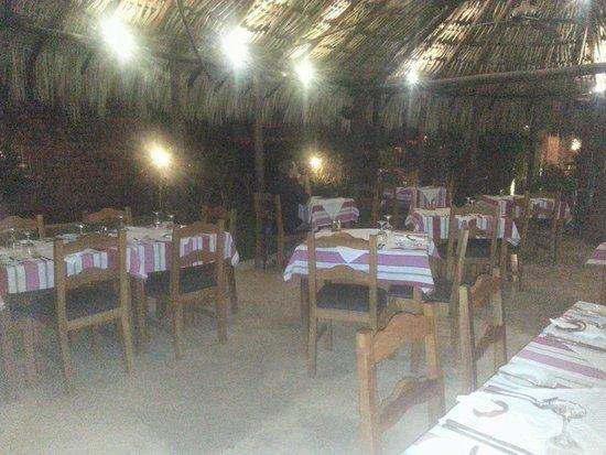 Taberna de los Frailes : not best pic of outside patio