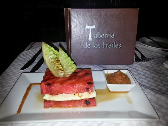 Taberna de los Frailes: this was great...and reason for our visit..