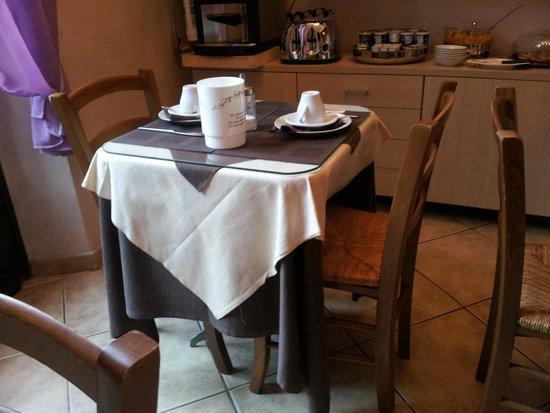 Sognando Firenze: Tavolo x colazione