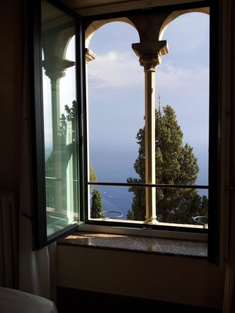 Hotel Villa Belvedere : View from the window