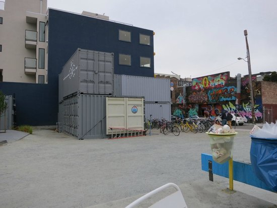 Streets of San Francisco Bike Tours container office