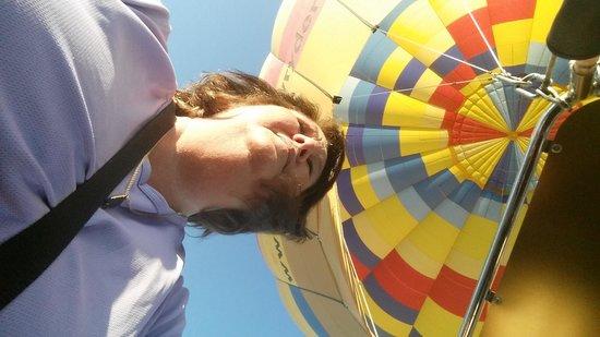 Rainbow Ryders, Inc. Hot Air Balloon Company : my wonderful day with rainbow Ryders hot air balloon Phoenix Arizona