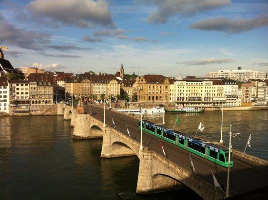 Hotel Merian am Rhein : Basel from hotel room