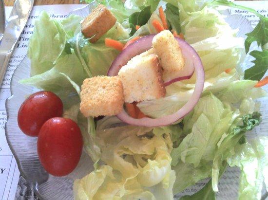 Apple Granny: Good side salad.