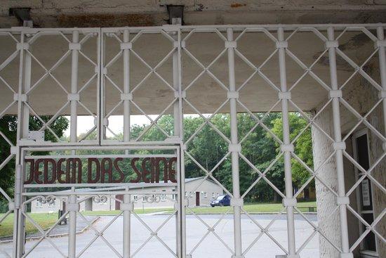 Buchenwald: Ingang