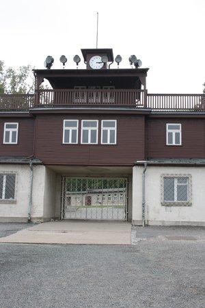 Buchenwald: poortgebouw