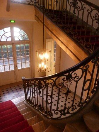 La Maison Europeenne de la Photographie: Escaliers.