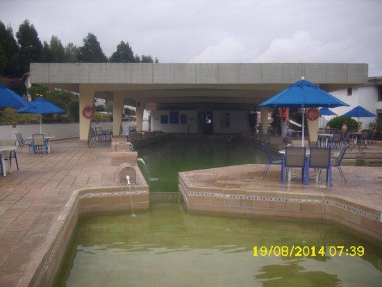 D'Acosta Hotel Sochagota: La piscina termal.