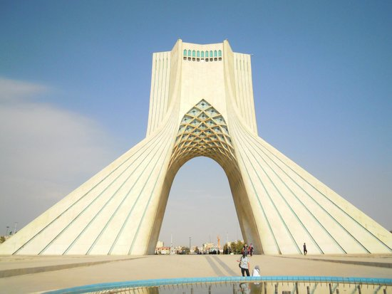 summary azadi Standing guard like a sentry at the gates of tehran, iran, is the impressive azadi tower (freedom tower), built in 1971 and comprised of eight thousand white marble.