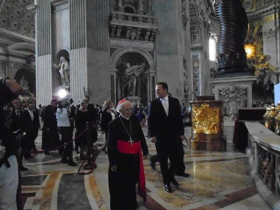 Key Rome and Vatican Tours in English: Cardinal and President of Portugal at Vatican