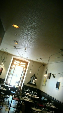 La Vizcaína: Decoración de techo