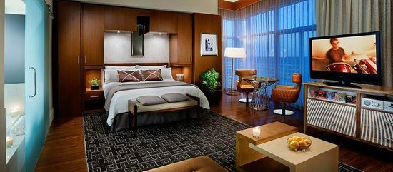 Seminole Hard Rock Hotel Tampa : Luxury Fit For The King-Newly renovated Luxury King bedroom