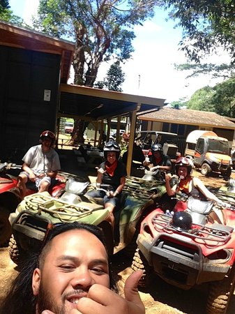 Kipu Ranch Adventures : Ryan - - our crazy guide!