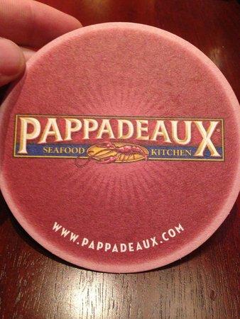 pappadeaux: coaster