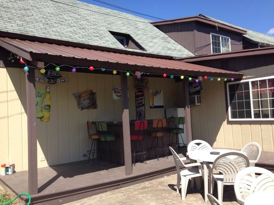 Wabeno, WI: Beer garden