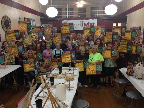 Painting with a Twist- Sherman: Denison Animal Welfare group