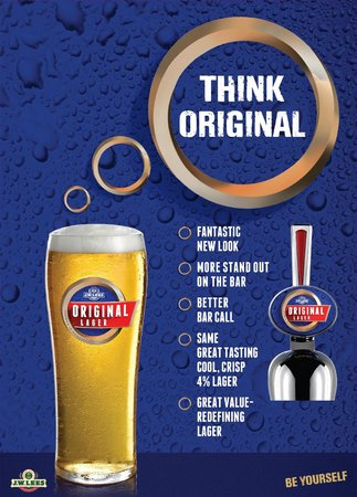 The Elizabethan: Newly Launched Original Lager