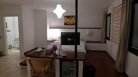 4reasons hotel+bistro: Standard-Zimmer mit Meersicht