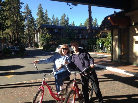 Hotel Azure: Free bicycle rentals