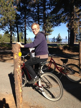 Hotel Azure: This was the perfect way to enjoy South Lake Tahoe