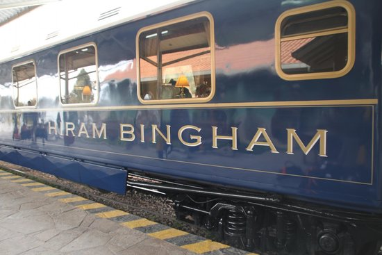 Belmond Hiram Bingham: The Train