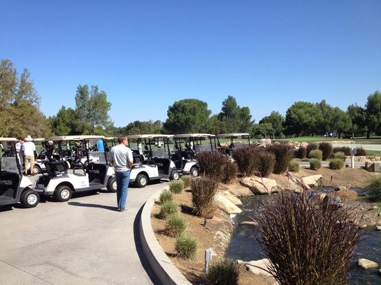 Temecula Creek Inn: down by the golf course