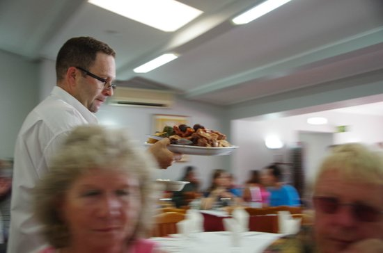 Restaurante Tonys: Coming up