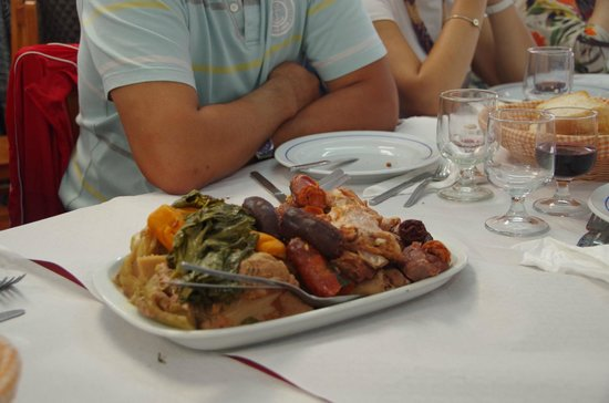 Restaurante Tonys: Meal for 4 people