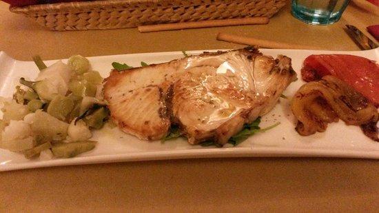 pesce spada grigliato senza i porcini come da ricetta - foto di ... - Cucina E Nobiltà Ricette