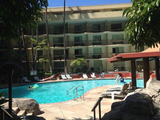 Los Angeles Airport Marriott: piscine