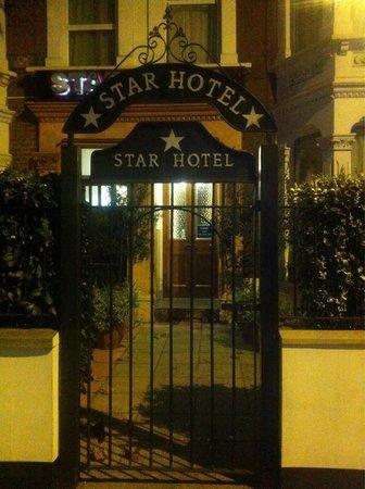 Star Hotel B&B: Une entrée qui donne envie!