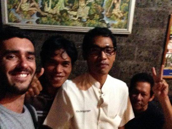 Sanggingan Villa: My friends ;)