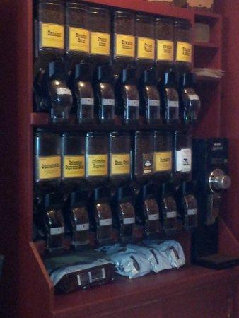 Tazza Cafe: amplia variedad