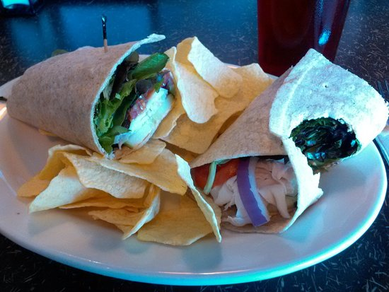 Jason's Deli: the Mediterranean Wrap
