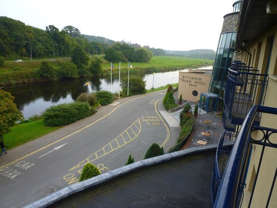 The Riverside Park Hotel & Leisure Club: View from bedroom