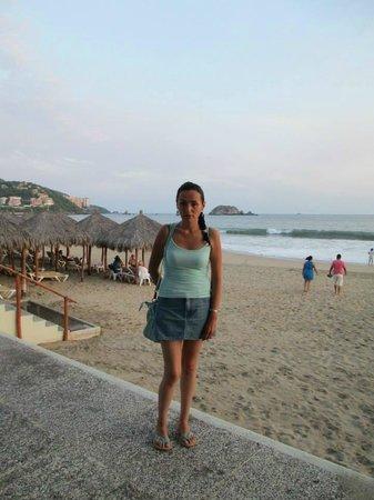 Emporio Ixtapa: Antes de bajar a la playa
