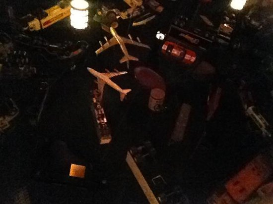 21 Club: Ceilings were decorated with classic toys