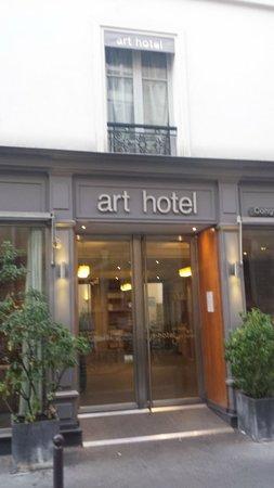 Art Hotel Congres: Hotel entrance